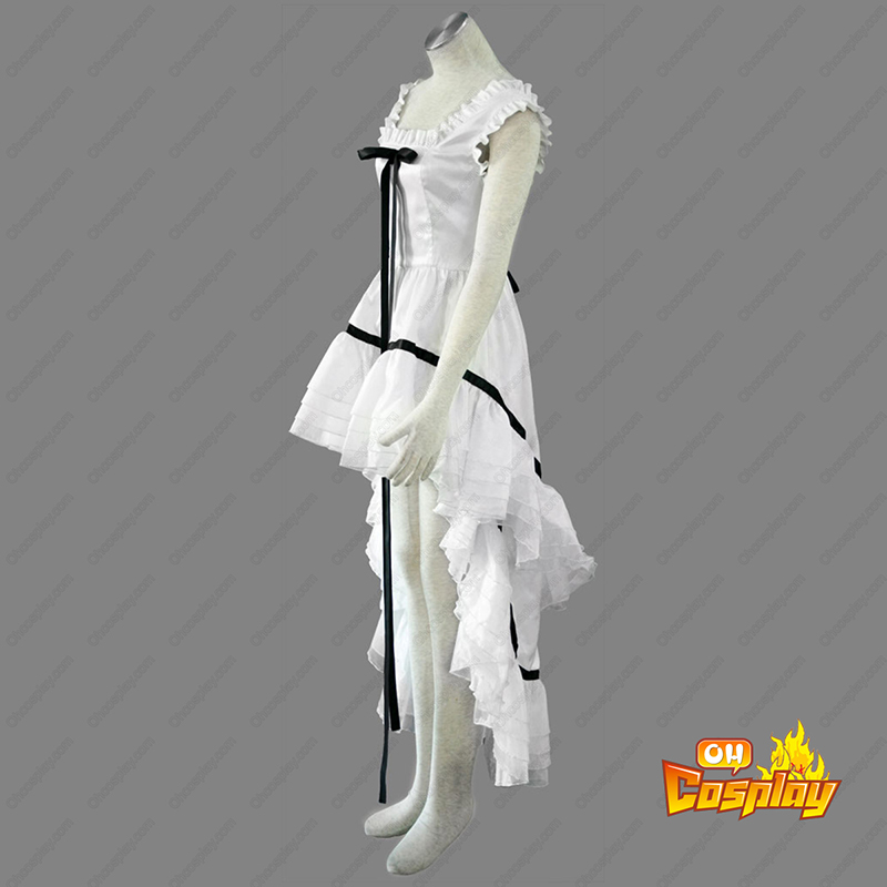 Déguisement Costume Carnaval Cosplay Chobits Eruda 2 Blanc
