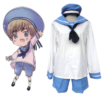Axis Powers Hetalia North Italy Feliciano Vargas 2 Cosplay Kostym