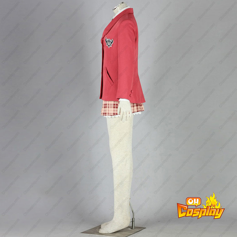 Axis Powers Hetalia Vinter Hunn School Uniform 1 Cosplay Kostymer