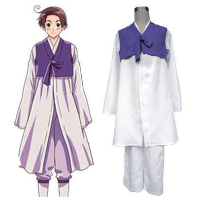 Axis Powers Hetalia South Korea 1 Cosplay Kostymer