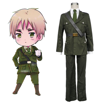 Axis Powers Hetalia Arthur Kirkland Britain 1 Cosplay Kostymer