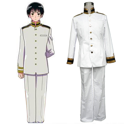 Axis Powers Hetalia Japan Honda Kiku 1 Cosplay Kostymer