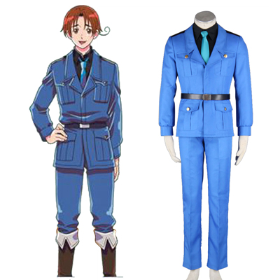 Axis Powers Hetalia APH North Italy Feliciano Vargas 3 Cosplay Kostumi