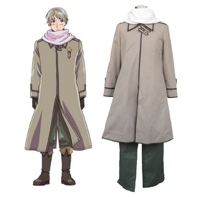Axis Powers Hetalia APH Russia Ivan Braginski 1 Cosplay Costumes UK