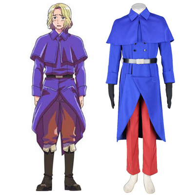 Axis Powers Hetalia France Francis Bonnefeuille 1 Cosplay Kostym