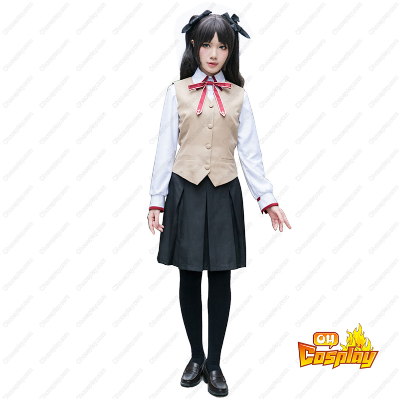 The Holy Grail War Tohsaka Rin 3 Σχολική στολή Κοστούμια cosplay