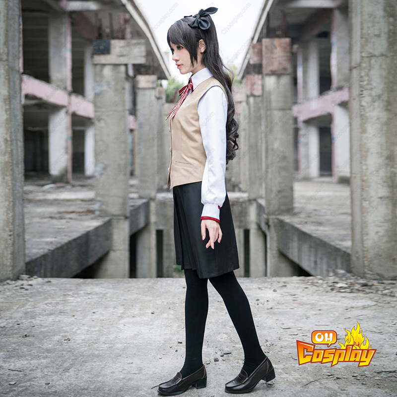 The Holy Grail War Tohsaka Rin 3 School Uniform Traje Cosplay