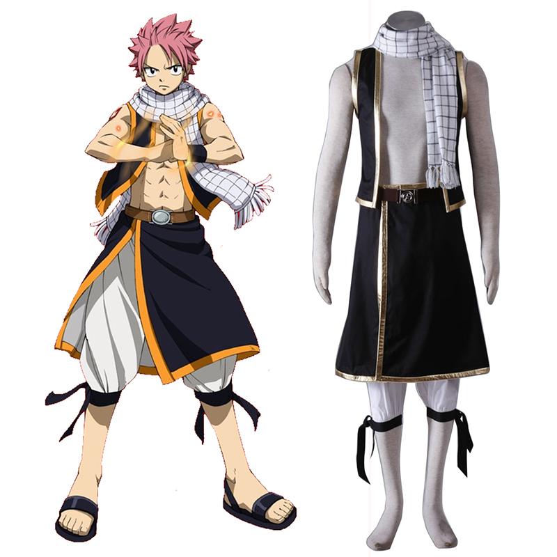Fairy Tail Natsu Dragneel 1 Κοστούμια cosplay