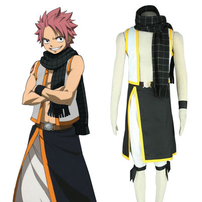 Fairy Tail Natsu Dragneel 2ND Cosplay Costumes