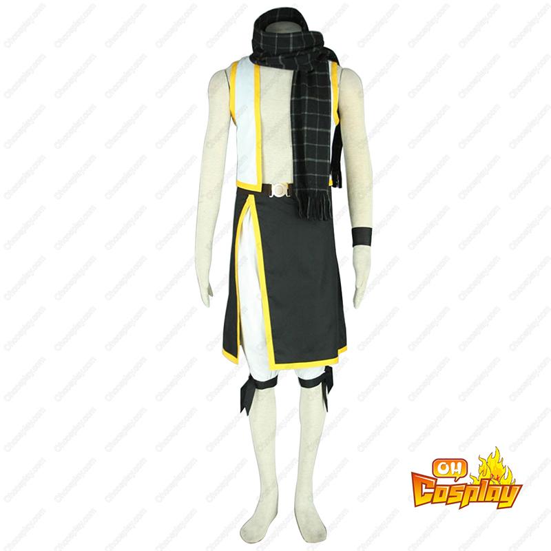 Fairy Tail Natsu Dragneel 2 Traje Cosplay