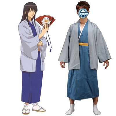 Gin Tama Katsura Kotarou 1ST Cosplay Costumes Deluxe Edition