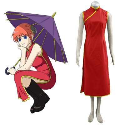 Gin Tama Kagura 1 Cosplay Costumes UK