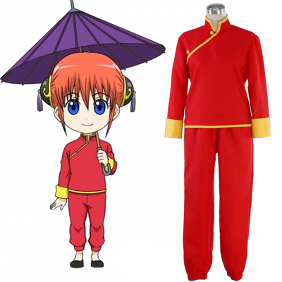 Gin Tama Kagura 5TH Cosplay Costumes Deluxe Edition