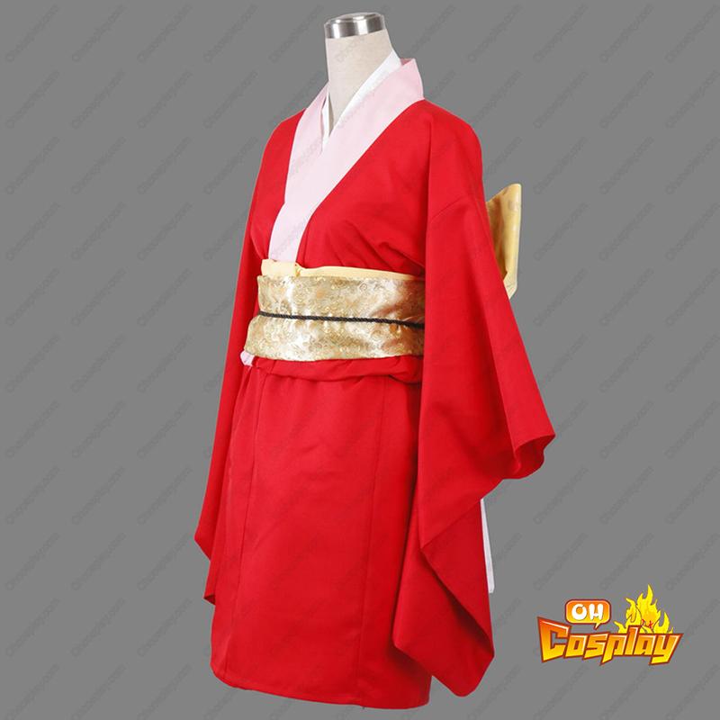 Gin Tama Kagura 6 Kimono תחפושות קוספליי