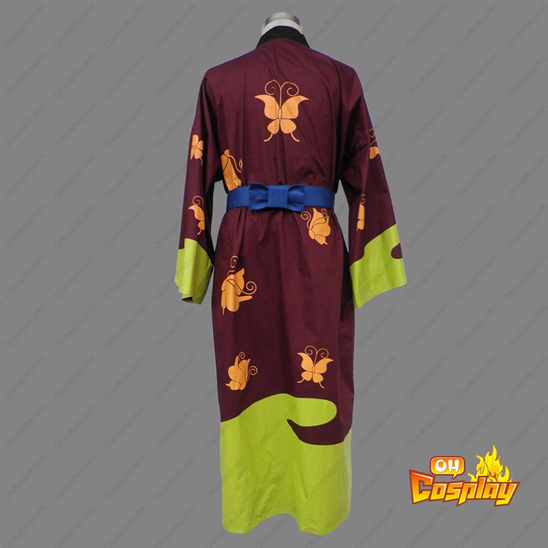 Gin Tama Takasugi Shinsuke 1 Kimono תחפושות קוספליי