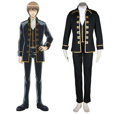 Gintama Shinsengumi Captain Cosplay Costumes Deluxe Edition