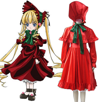 Rozen Maiden Shinku Cosplay Costumes Deluxe Edition