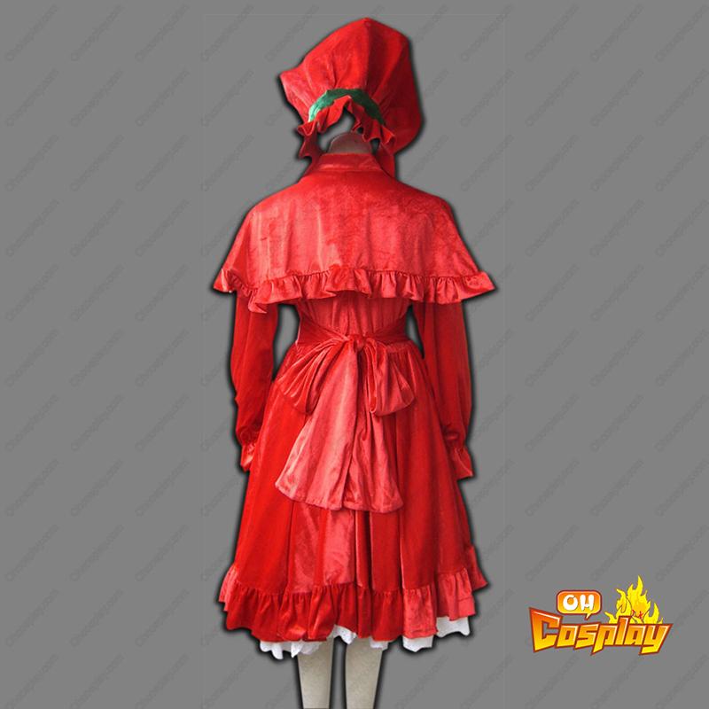 Rozen Maiden Shinku Cosplay Kostymer