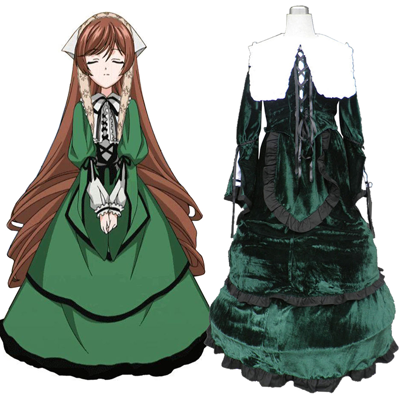 Rozen Maiden Suiseiseki Cosplay Kostymer