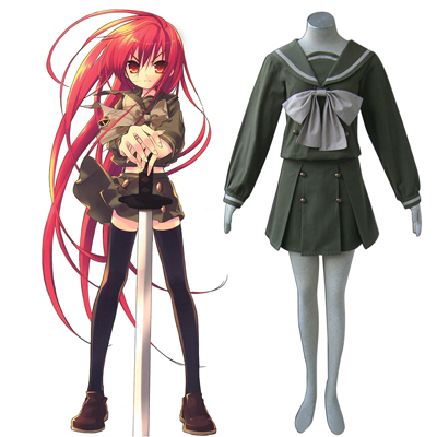 Shakugan no Shana Shana 2 Vinter Sailor Cosplay Kostym