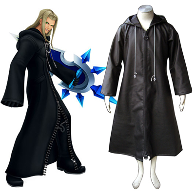 Kingdom Hearts Organization XIII Vexen 1 Cosplay Kostym