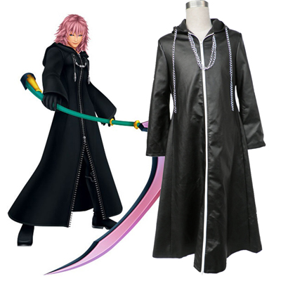 Kingdom Hearts Organization XIII Marluxia 2 Cosplay Kostumi