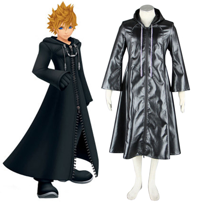 Kingdom Hearts Organization XIII 3 Roxas Cosplay Kostumi
