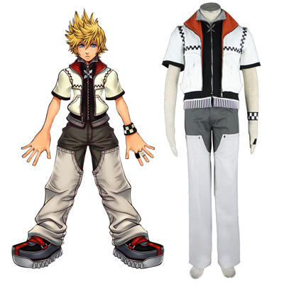Costumi Carnevale Kingdom Hearts Roxas 1 Cosplay