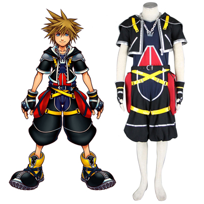 Kingdom Hearts Sora 1 Traje Cosplay