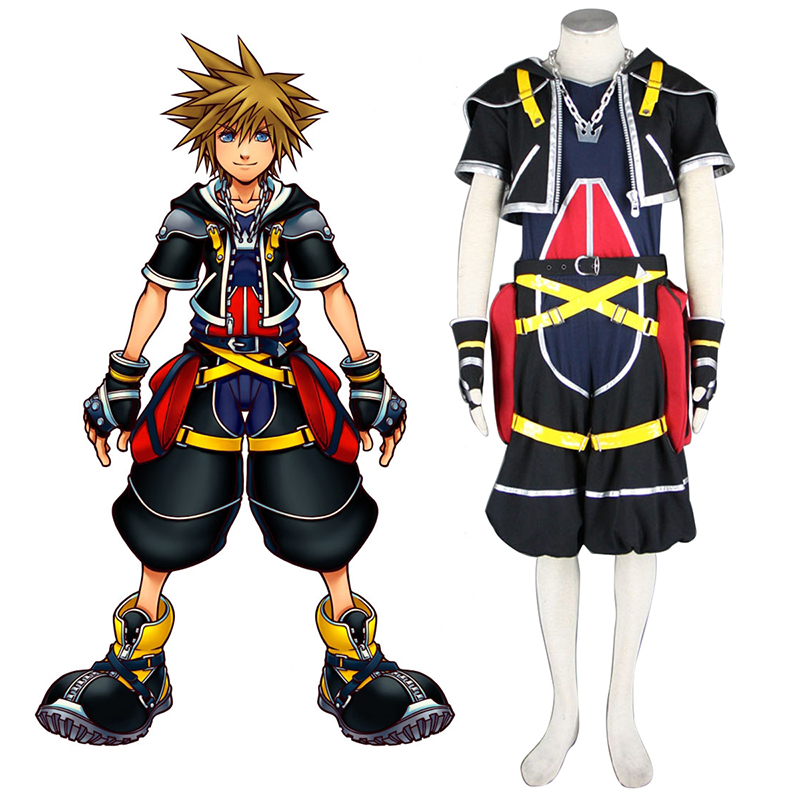 d u00e9guisement costume carnaval cosplay kingdom hearts sora 1