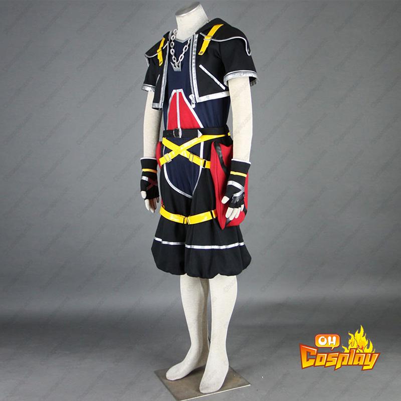 Kingdom Hearts Sora 1 Cosplay Kostymer