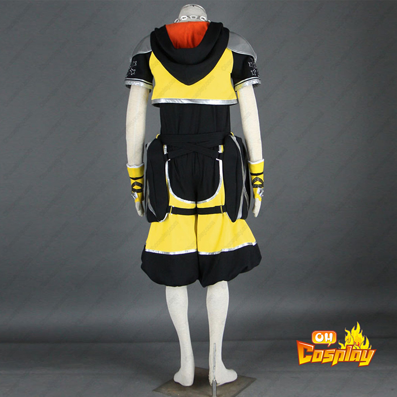 Kingdom Hearts Sora 3 Yellow Κοστούμια cosplay