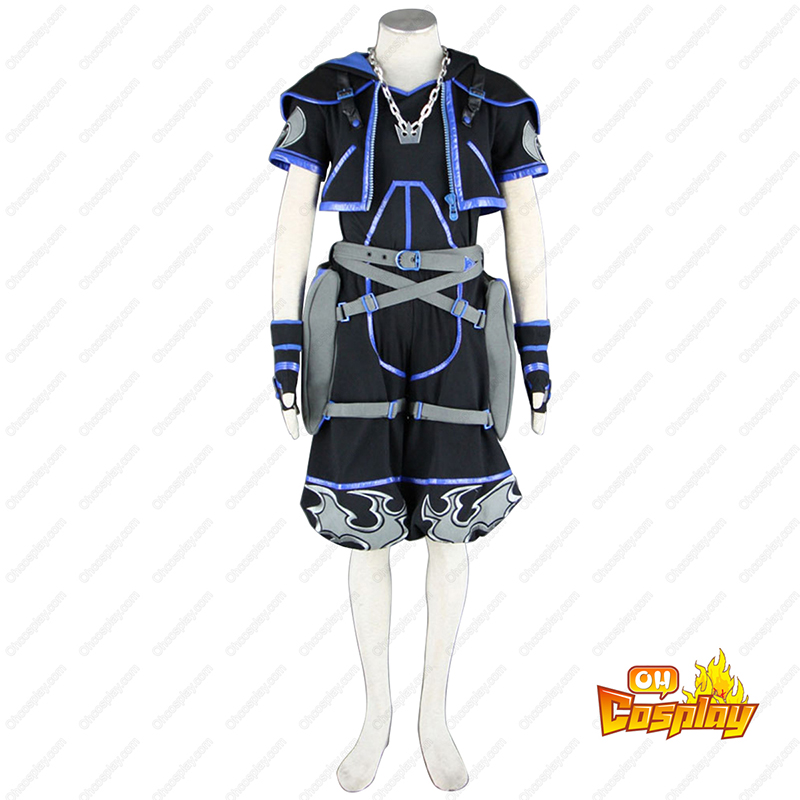 Kingdom Hearts Sora 4TH Black Cosplay Costumes
