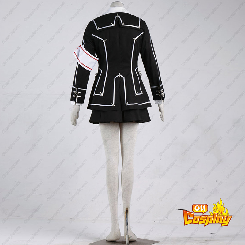 Déguisement Costume Carnaval Cosplay Vampire Knight Day Class Noir Femme Uniforme scolaire