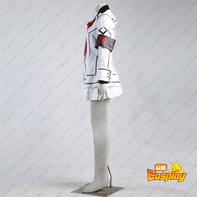 Vampire Knight Night Class Branco Fêmea School Uniform Traje Cosplay
