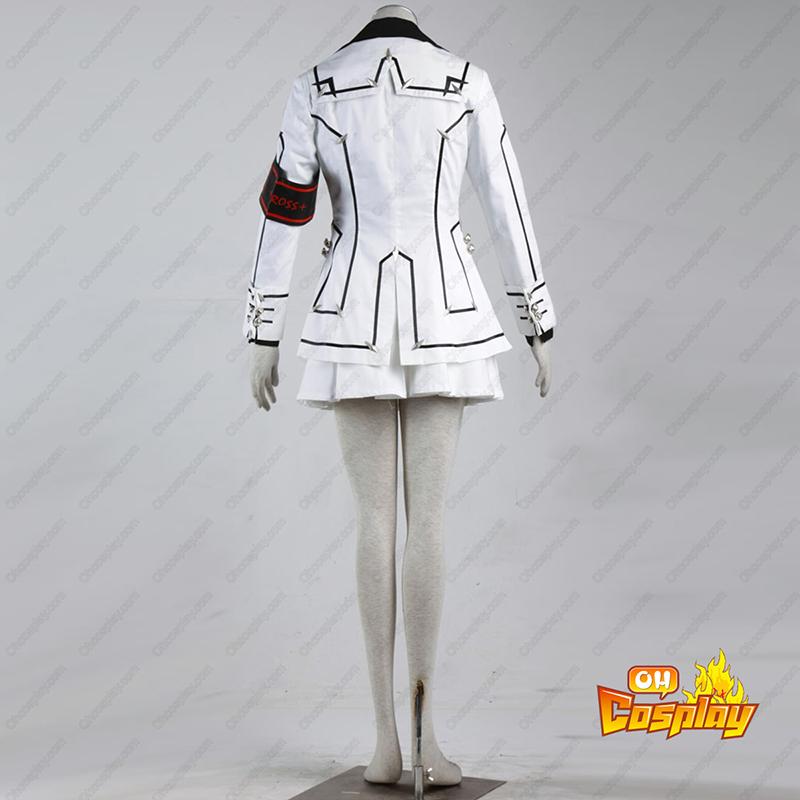 Vampire Knight Night Class Biela Samice školské uniformy Cosplay Kostýmy