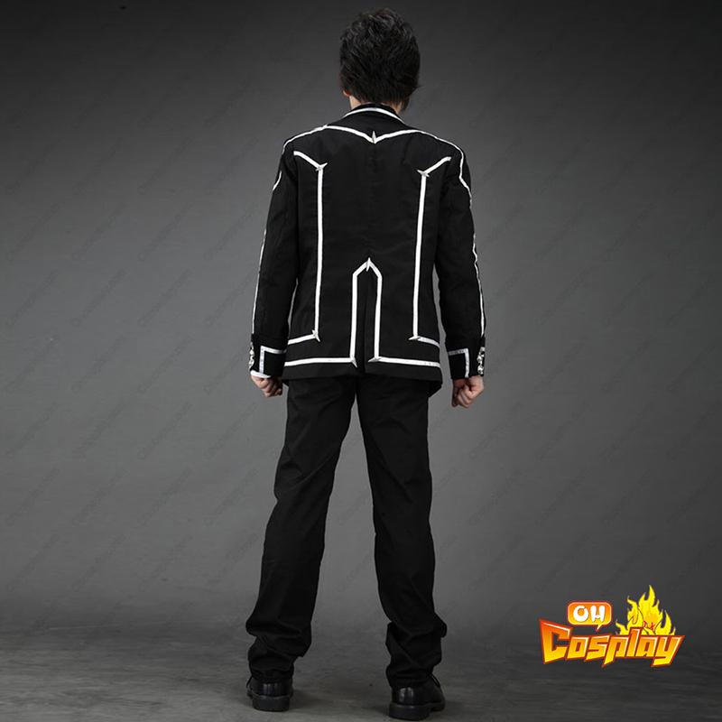 Vampire Knight Day Class Μαύρος Αρσενικός Σχολική στολή Κοστούμια cosplay
