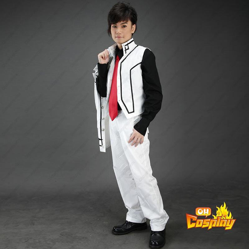 Vampire Knight Night Class Branco Male School Uniform Traje Cosplay