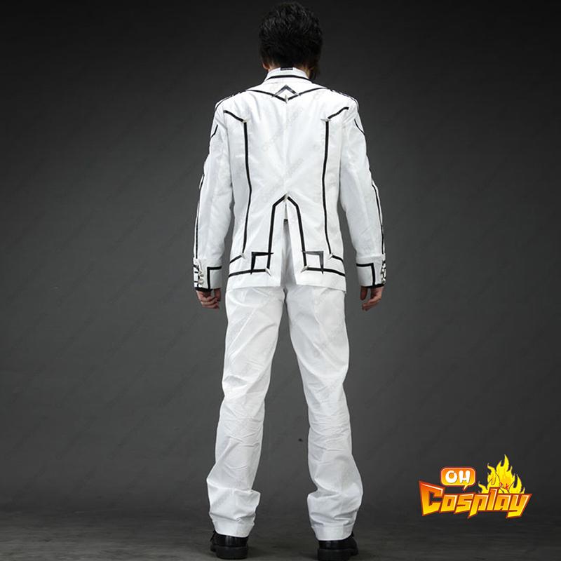 Vampire Knight Night Class άσπρο Αρσενικός Σχολική στολή Κοστούμια cosplay