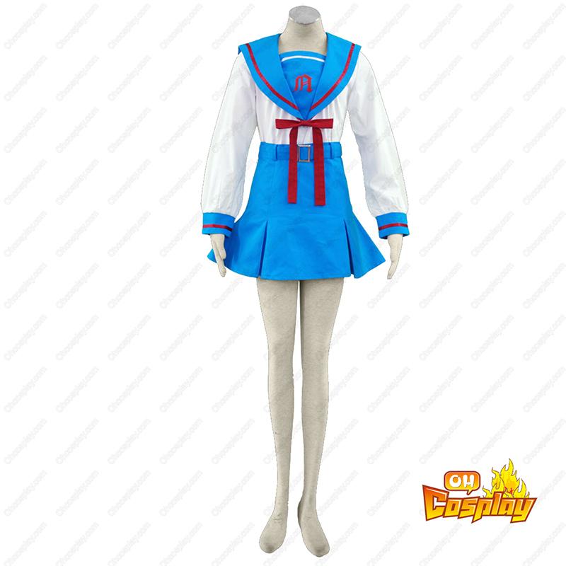 Haruhi Suzumiya Asakura Ryoko 2 Cosplay Kostymer