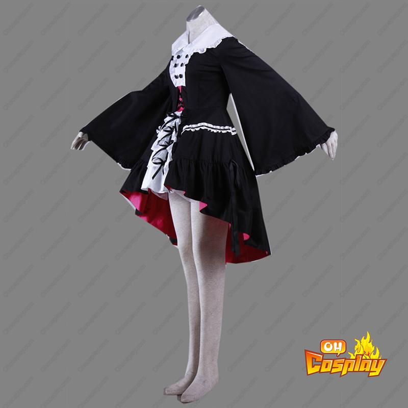 Haruhi Suzumiya Nagato Yuki 2 Lolita Traje Cosplay