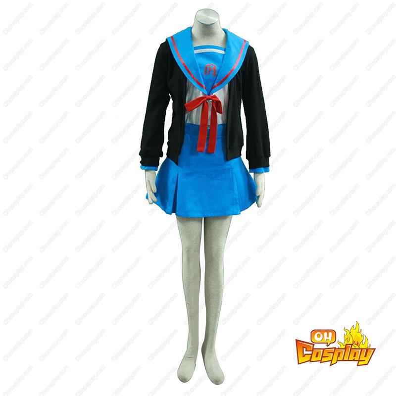 涼宮ハルヒ Nagato Yuki 1 コスプレ衣装