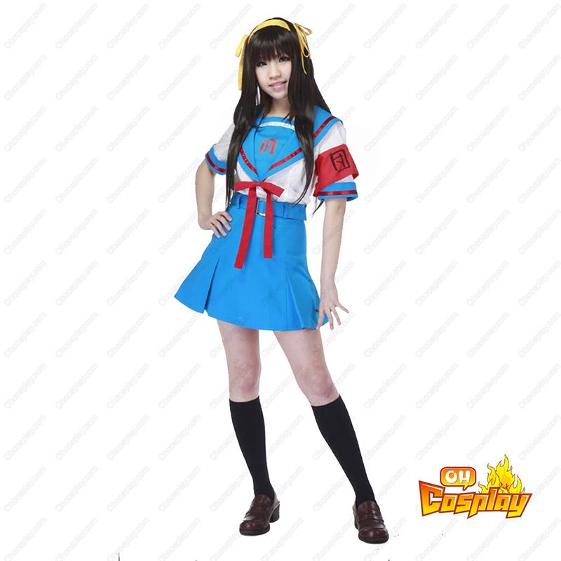 Haruhi Suzumiya Suzumiya Haruhi 2 תחפושות קוספליי