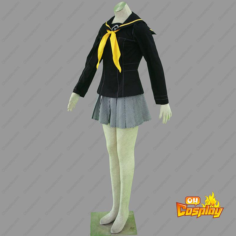 Shin Megami Tensei: Persona 4 Χειμώνας Θηλυκός Σχολική στολή Κοστούμια cosplay
