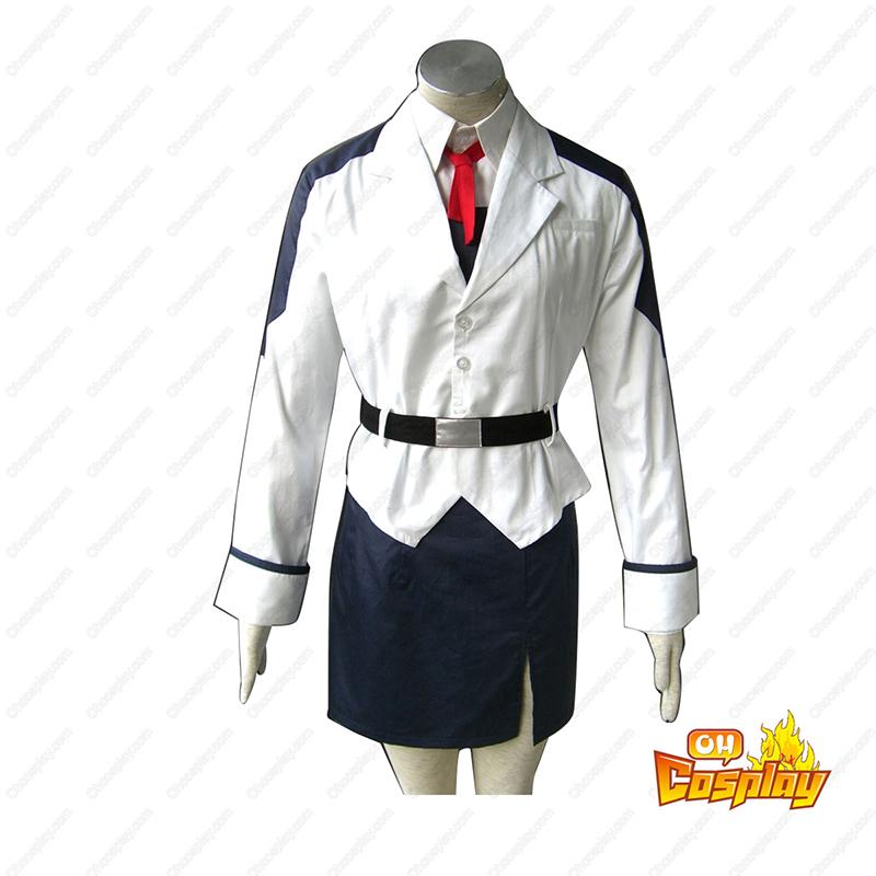 Magical Girl Lyrical Nanoha Nanoha Takamachi 1 white Κοστούμια cosplay