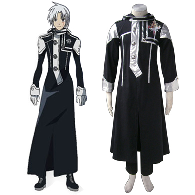 D.Gray-man Allen Walker 1 Cosplay Kostymer