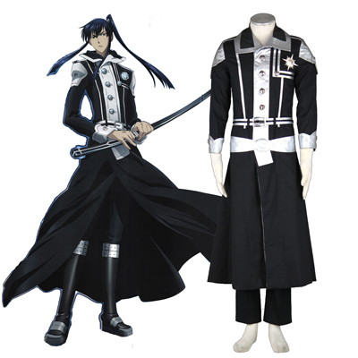 D.Gray-man Yu Kanda 1ST Cosplay Costumes Deluxe Edition