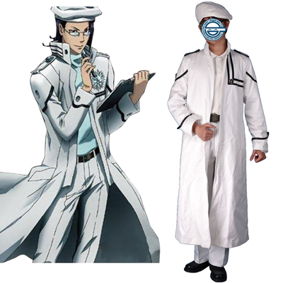 D.Gray-man Komui Lee 1ST Cosplay Costumes Deluxe Edition