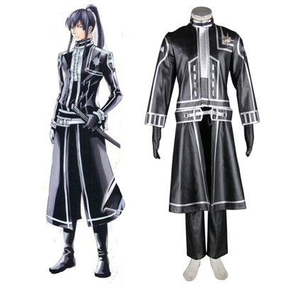 D.Gray-man Yu Kanda 2ND Cosplay Costumes Deluxe Edition