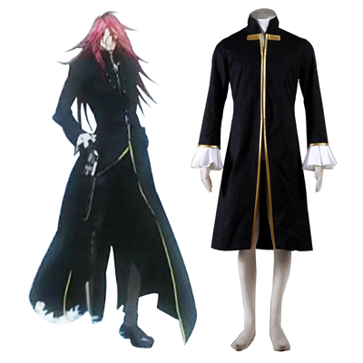 D.Gray-man Cross Maria 1ST Cosplay Costumes Deluxe Edition